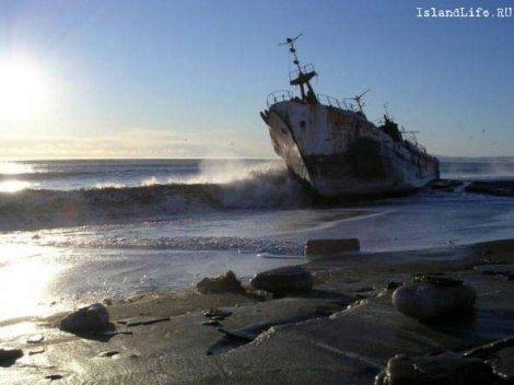 Никто не знает сколько кораблей погибло на острове